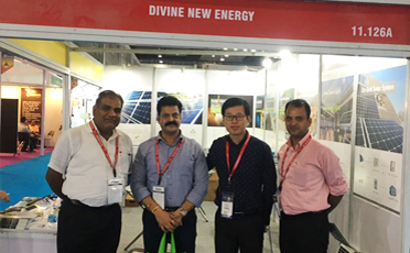 DIVINERGY Takes Active Role in Implementing the OBOR Initiative While Displaying its Solar Tech at Re