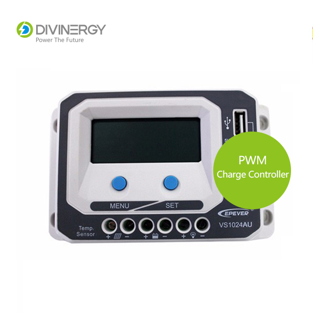 Top Quality PWM 12V/24V 10A/20A/30A/45A/60A Solar Charge Controller With LCD Display & USB