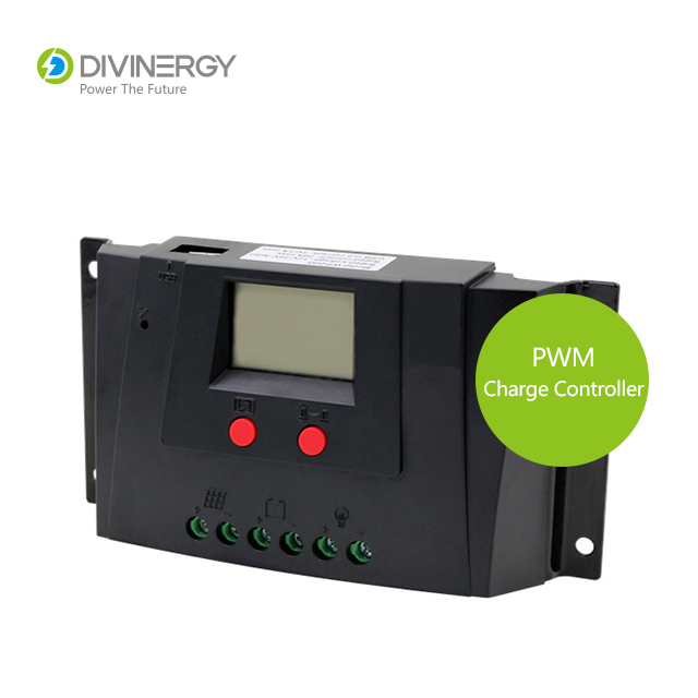 Factory Price PWM 10A/15A/20A Solar Charge Controller with LCD display