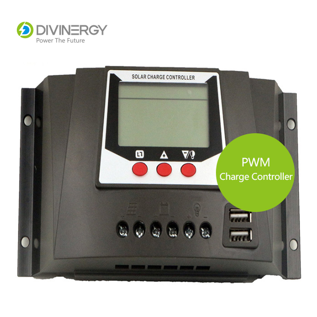 Durable PWM 30A/60A Solar Charge Controller with LCD display