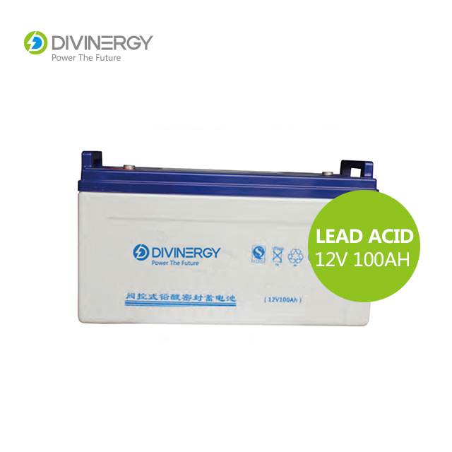 Superior quality Rechargeable AGM Lead Acid 12V 100AH Solar battery