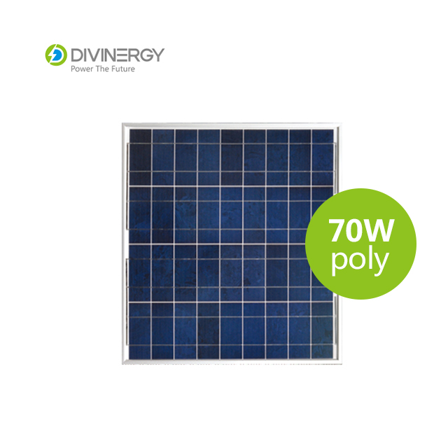 Competitive price 70W PV poly solar panel