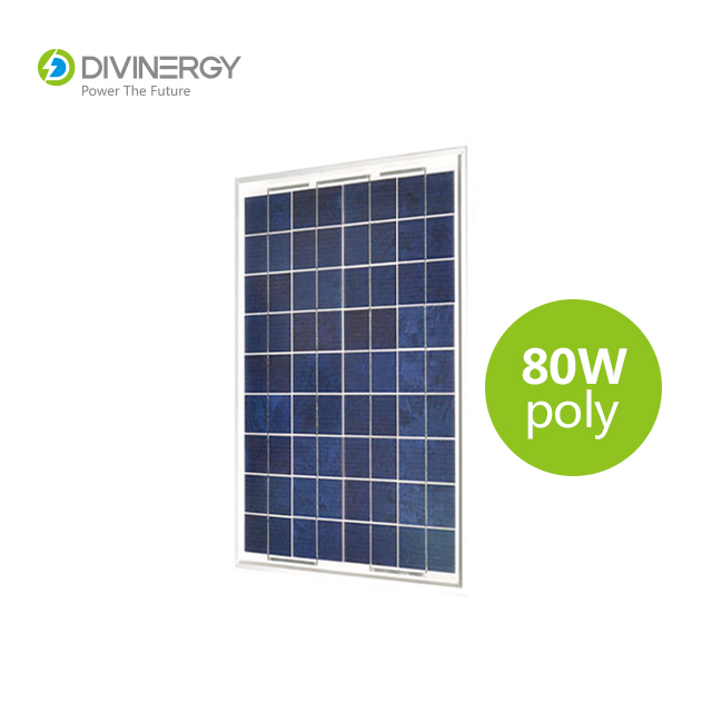 Top quality 80W polycrystalline solar panel