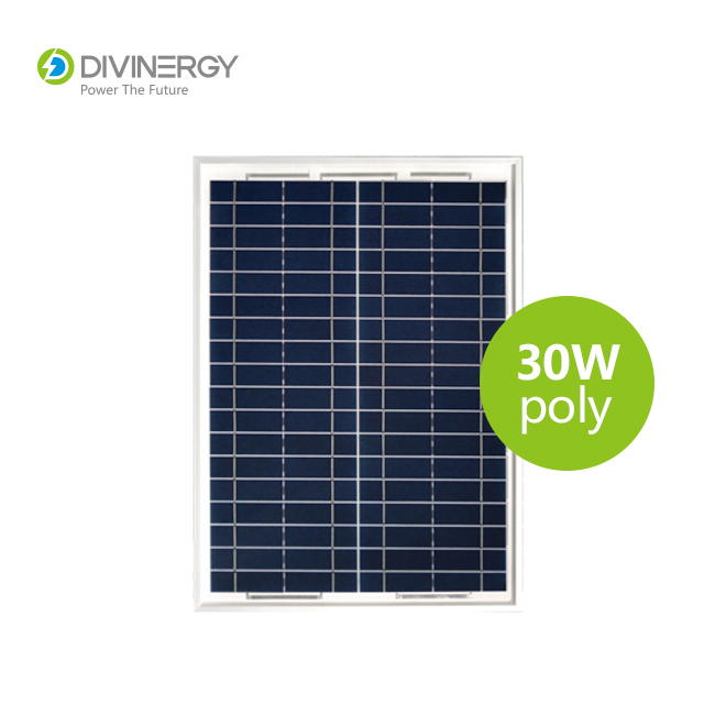 Off grid top quality 30W poly solar panel