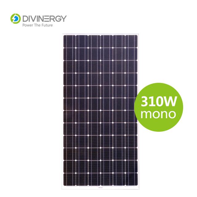 Grade A high efficiency IEC 61730 certified 310W mono solar panel