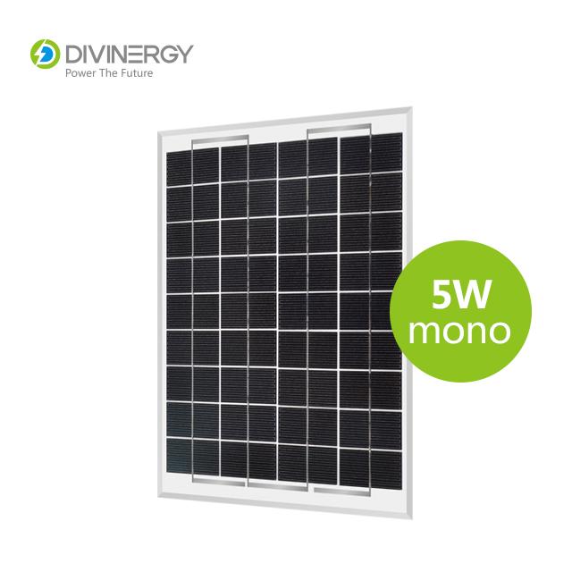 China good quality 5W mono solar panel